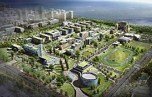 Incheon National University - New Songdo Campus