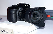 Description de l'image Sony ILCE-3000 (2).jpg.