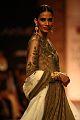 Sony Kaur in Ritu Kumar's ensemble at Lakme Fashion Week at Grand Hyatt Mumbai, by SouBoyy, Sourendra Kumar Das..jpg