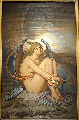 Soul in Bondage by Elihu Vedder, 1891-1892, oil on canvas - Brooklyn Museum - DSC09636