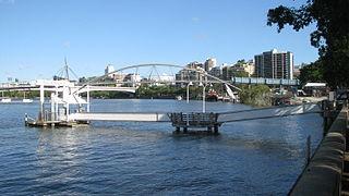 South Bank 3 ferry wharf CityFerry wharf in Brisbane, Australia