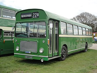 Southern National - Preserved Bristol RE in April 2012