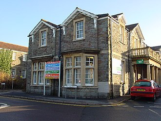 Southmead Hospital - The original workhouse building now used as a training centre