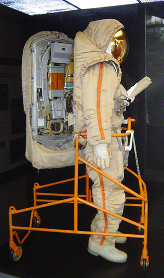 Krechet-94 - Image: Soviet moon suit side