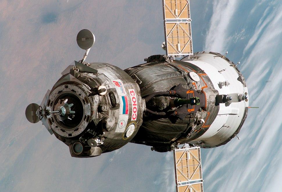 Soyuz TMA-6 spacecraft