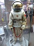 Space suits in Memorial Museum of Cosmonautics, Moscow, Russia, 2016 42.jpg