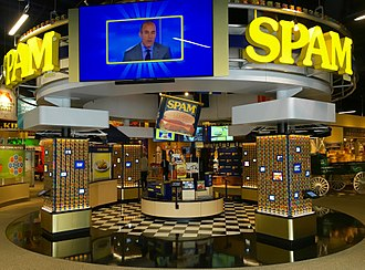 Spam Museum - Can Central Exhibit at the Spam Museum