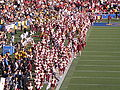 Spirit of Troy performing pregame at USC at Cal 2009-10-03 1.JPG