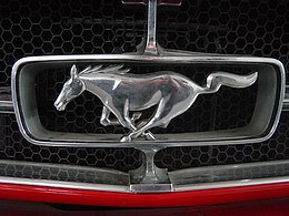 Sports Car Museum Lány - Ford Mustang (emblem).jpg