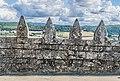 Spur building terrace of the Castle of Beynac 04.jpg