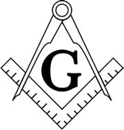 Прав угао и шестар, симболи слободног зидарства