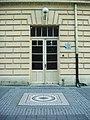 Sremska Mitrovica - mosaic in the front of Theatre entrance - Сремска Митровица - Мозаик пред улазом позориште.JPG