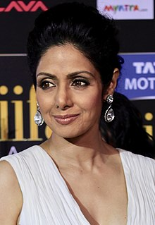 Sridevi Indian film actress