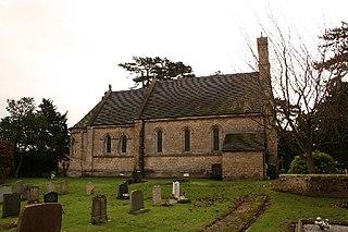Sudbrooke village in the United Kingdom