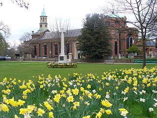 St Annes Church, Kew Church in England