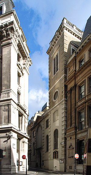 St Clement's, Eastcheap - St Clement's Church, October 2006