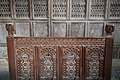 St Grwst's Church - interior, view of Gwydir Chapel timber panel.jpg