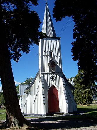 Thomas Brunner - St Michael's Church in Waimea West was designed by Brunner in 1866
