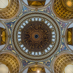 St Paul's Cathedral Interior Dome 3, London, UK - Diliff.jpg