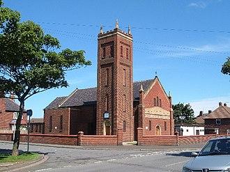Dormanstown - Image: St Williams Church, Dormanstown