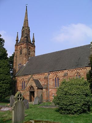 Keresley - Image: St thomas church in Coventry 1a 07