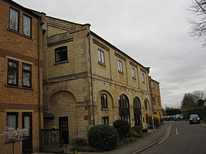 Stamford East railway station - Former Goods Shed