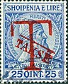 Stamp of Albania - 1914 - Colnect 376668 - Overprinted T and Takse in red.jpeg