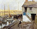 Stanhope Forbes Mousehole Harbour, Cornwall 1910.jpg