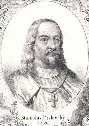 Medical University of Innsbruck - Bishop Stanislav Pavlovský, who donated the Mace now held by Innbruck in 1588 to the University of Olomouc