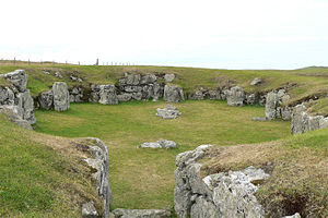 Prehistoric Shetland - Staneydale Temple