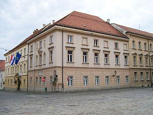 Old City Hall (Zagreb) - Image: Stara gradska vijecnica Zagreb