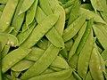 Starr-070730-7867-Pisum sativum var macrocarpum-snow peas-Foodland Pukalani-Maui (24522893769).jpg
