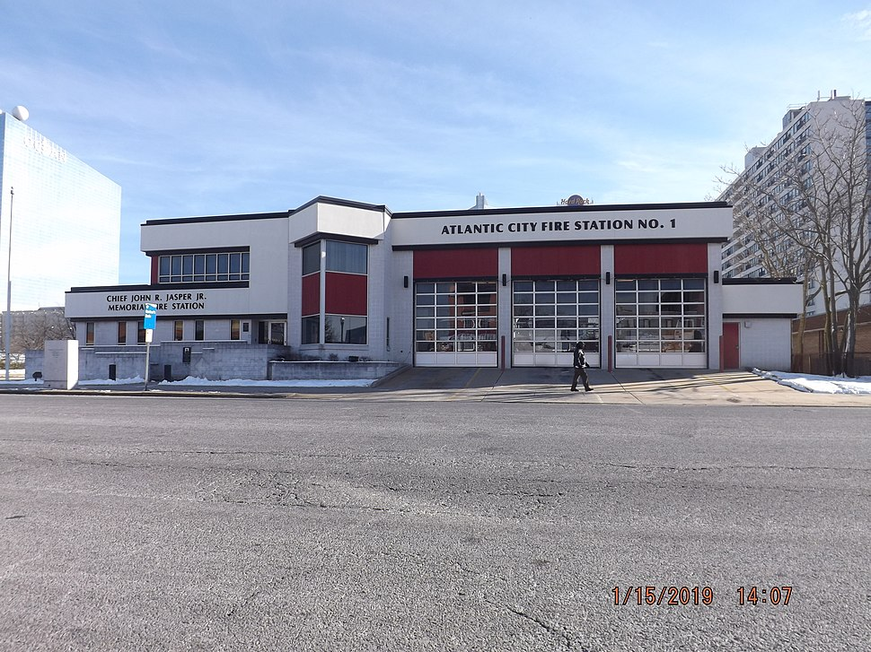Station 1 - E1-T1 - Atlantic Ave & Maryland Ave