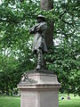 Statue of Colonel Thomas Cass, Commander of the Ninth Regiment Massachusetts Volunteers.JPG
