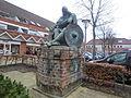 Statue of Holger Danske in Skjern.JPG