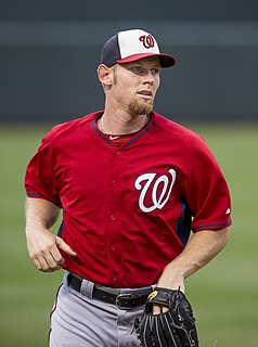 Stephen Strasburg American baseball pitcher
