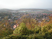 Sternenfels perspective from the Castle hill