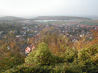 Sternenfels - Sternenfels perspective from the Castle hill
