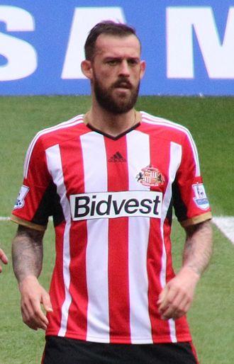Steven Fletcher (footballer) - Fletcher playing for Sunderland in 2015