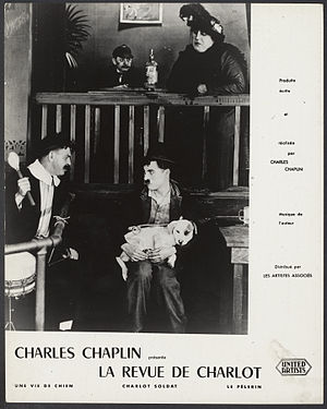 A Dog's Life - Image: Still from Charles Chaplin A Dog's Life 1918 First National Pictures EYE FOT291510