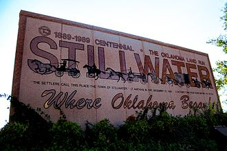Stillwater, Oklahoma - Stillwater Welcome Sign (2010)