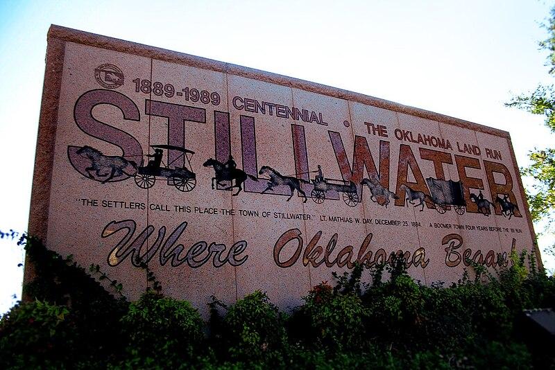 File Stillwater Ok Welcome Sign Jpg Wikipedia