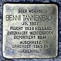 Stolperstein Benni Tannenbaum (Weiseler Str 24 Butzbach).jpg
