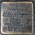 Stolperstein Brunnenstr 193 (Mitte) Bayume Mohamed Husen.jpg