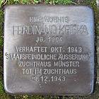 Stolperstein für Ferdinand Kriska