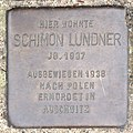 Stolperstein HB-Fliederstrasse 41a - Schimon Lundner - 1937.jpg