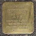 Stolperstein Jagowstr 8 (Moabi) Bertha Walk.jpg