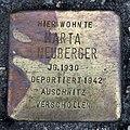 Stolperstein Karl-Marx-Allee 38 (Mitte) Marta Neuberger.jpg