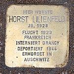 Stolperstein Kybitzstr 6 Horst Lilienfeld