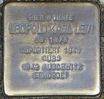 Stolperstein Offenburg Leopold Karl Levi.jpg